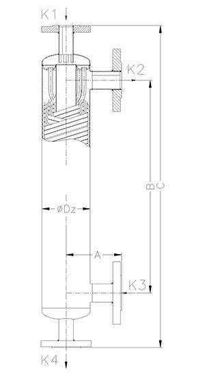 Конструкция кожуховитого теплообменника АН-2 Игла